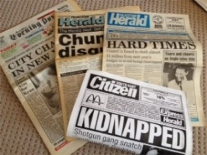 Doing The Rounds newspapers