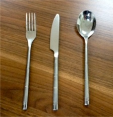 power of 3 knife fork spoon