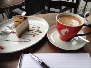 3X coffee copy and cake