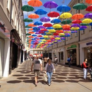 Bath brollies