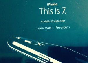 iPhone 7 launch 2016