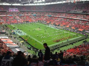 American Football at wembley Stadium
