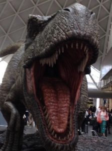 T-Rex Jurassic World London