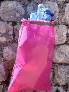 Rubbish bag Kotor Fortress