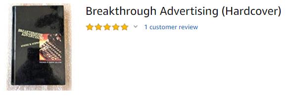 Breakthrough Advertising Eugene Schwartz
