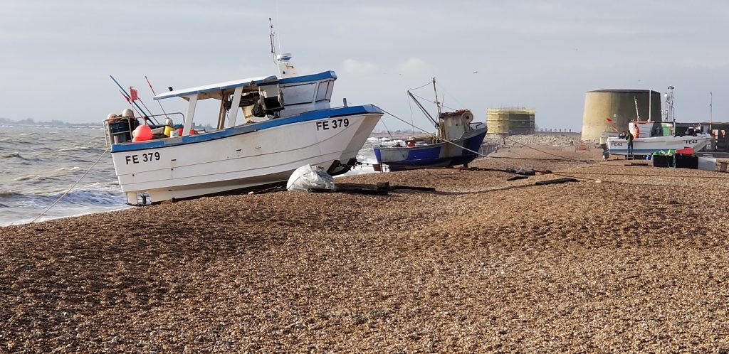 Fishing boat Hythe