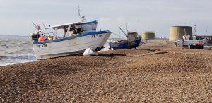 Fishing boat Hythe
