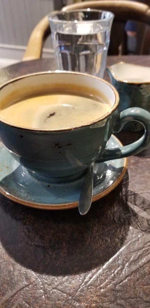 Cup of coffee Steep Street Folkestone