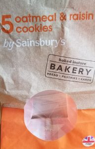 Sainsbury cookie